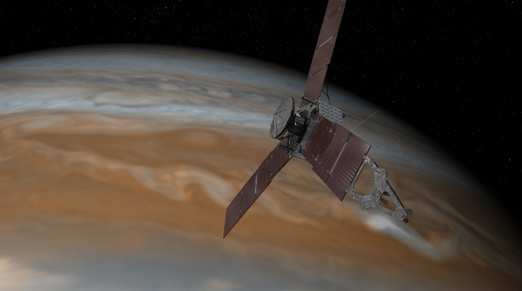 Featured image: NASA&#8217&#x3B;s Juno arrives at Jupiter to lift cloudy veil