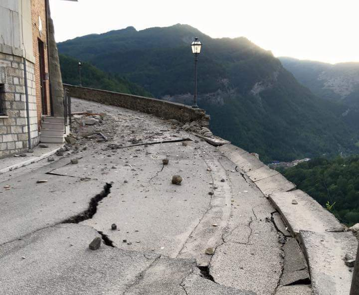 Image: Mark Quigley on quake in Italy