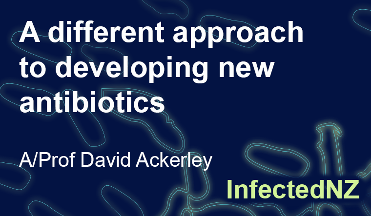 A different approach to developing new antibiotics