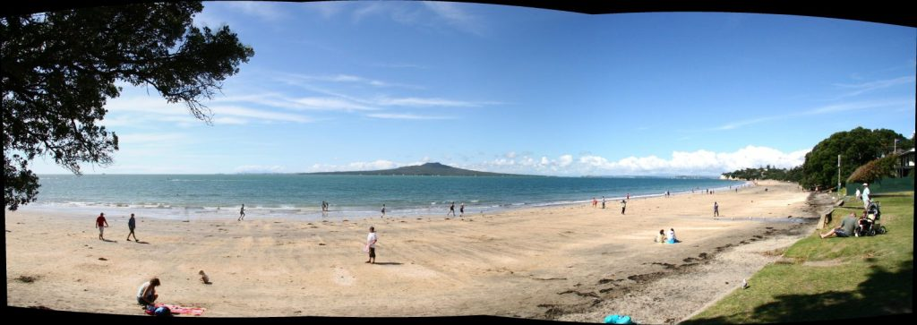 Takapuna Beach, New Zealand. Credit: Wikimedia / Mark