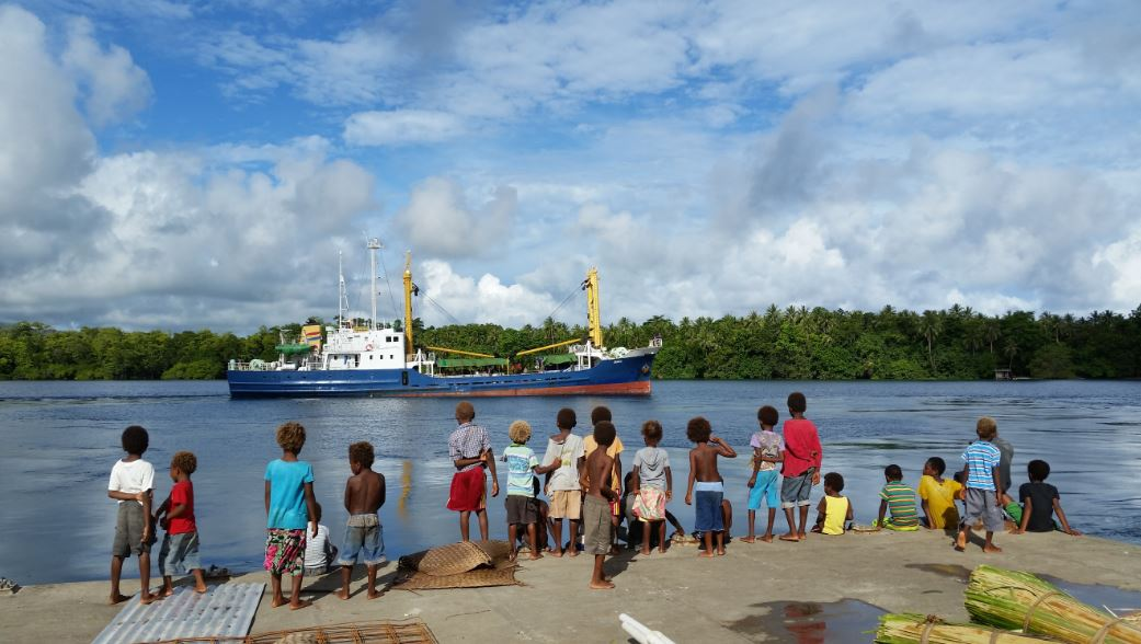 Image: Suffering for science in the Solomon Islands