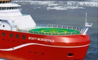 Image: Weird Science: A Pommy prank nearly named a $340m research vessel RRS Boaty McBoatface