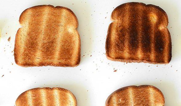 Image: I smell burnt toast! Acrylamide and cancer