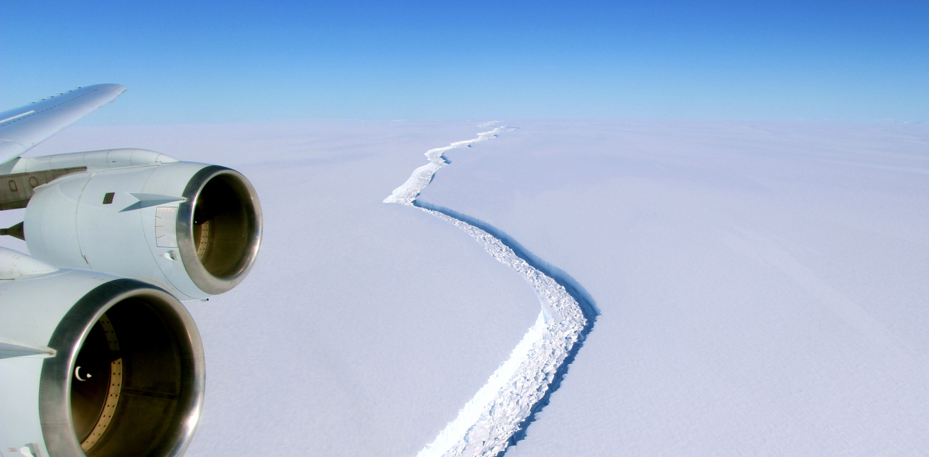 Image: I've studied Larsen C and its giant iceberg for years – it's not a simple story of climate change