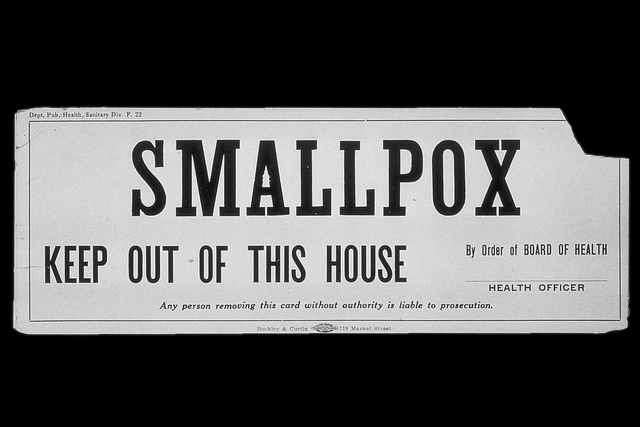 Featured image: 1896, and the consequences of refusing the smallpox vaccine