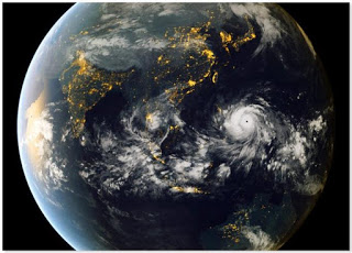Tropical storms in the western Pacific