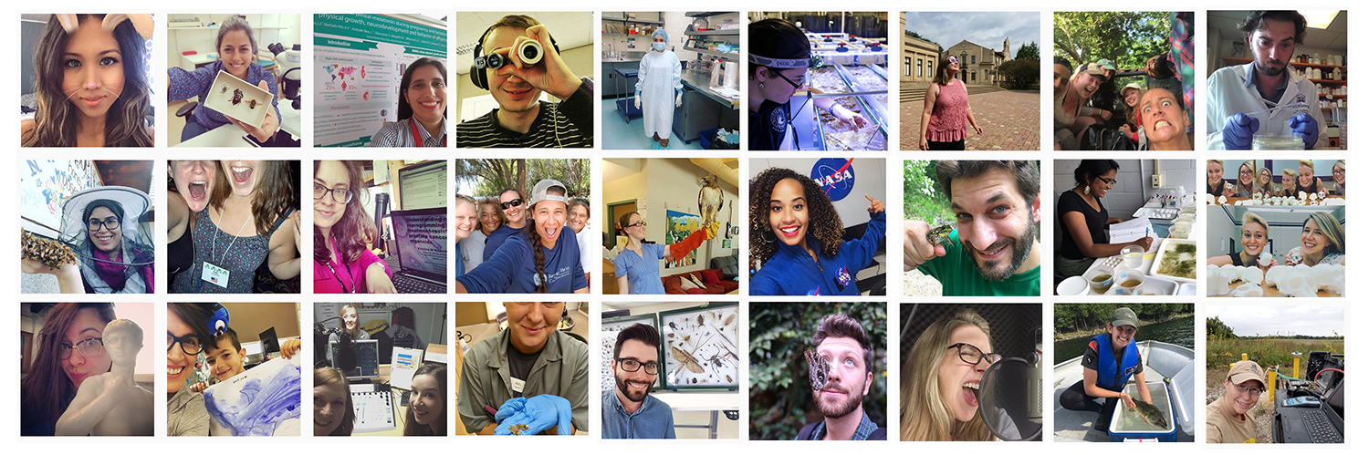 Featured image: The world is going crazy for #ScientistsWhoSelfie