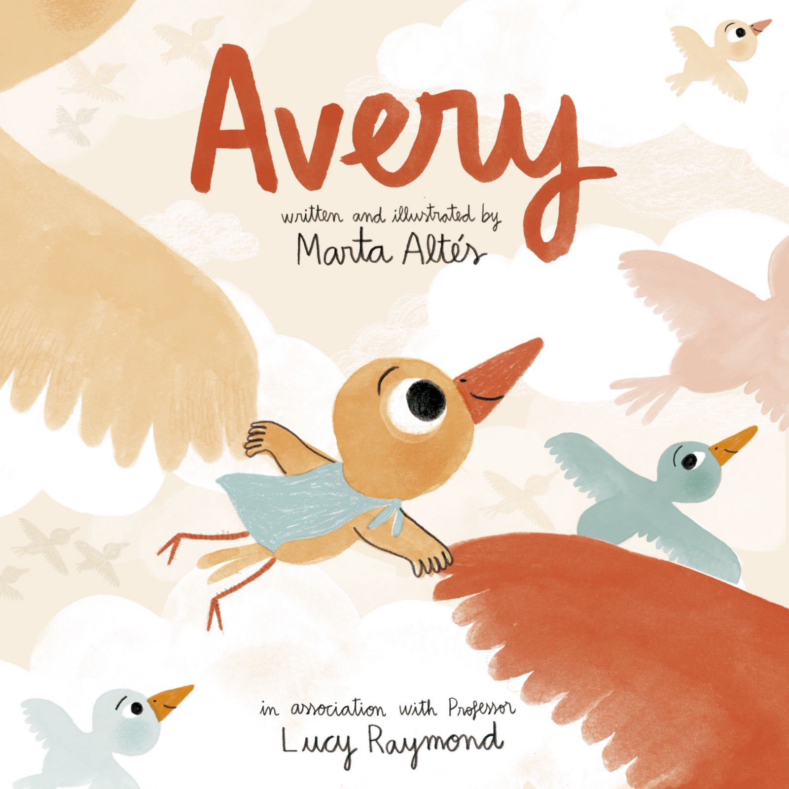 Featured image: Avery, a little bird helping children talk about their genetic disease