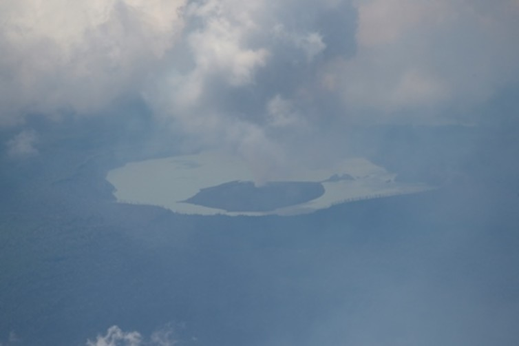 Featured image: Ambae volcano's crater lakes make it a serious threat to Vanuatu
