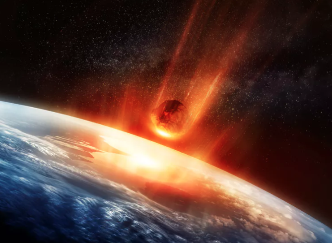 Featured image: More bad news for dinosaurs: Chicxulub meteorite impact triggered global volcanic eruptions on the ocean floor