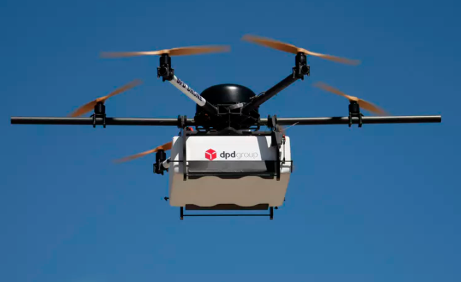 Featured image: Delivering packages with drones might be good for the environment