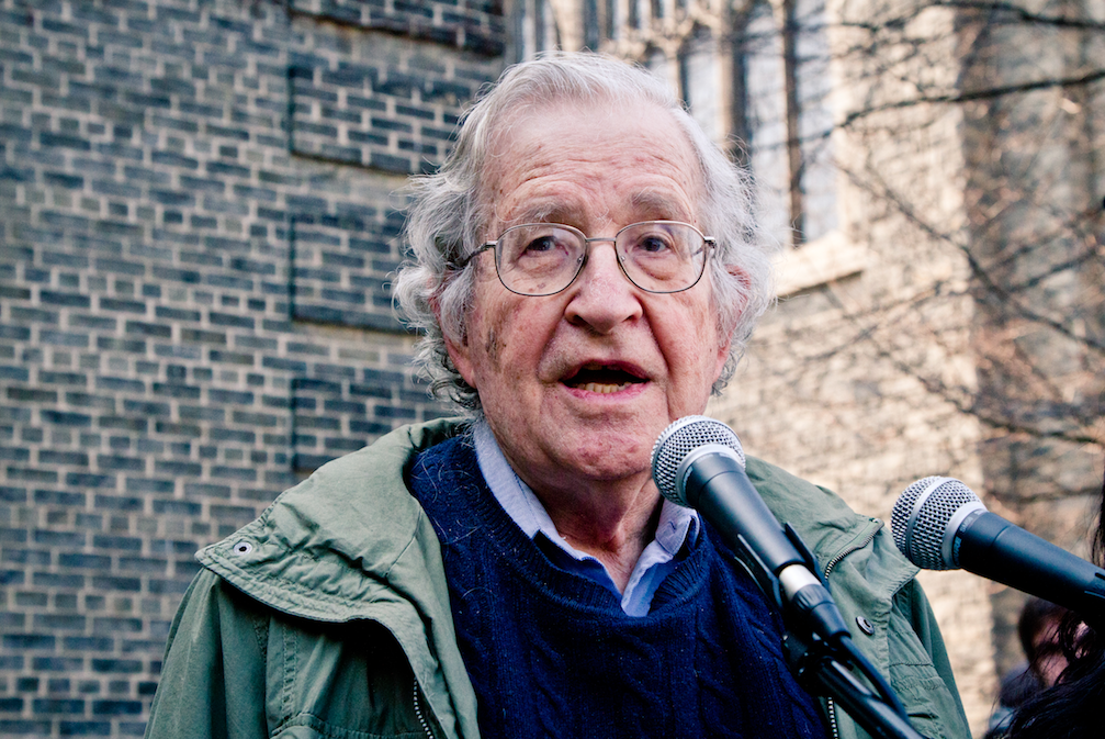 Featured image: Who's afraid of Noam Chomsky?
