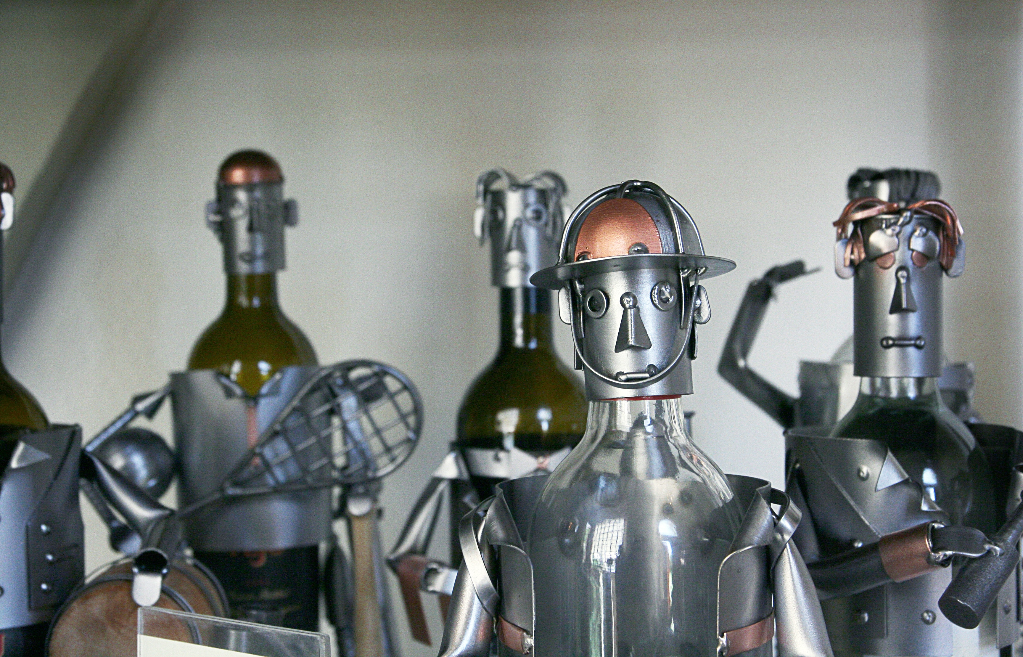 Image: Jobs of the future – landfill-worm riders vs truckers
