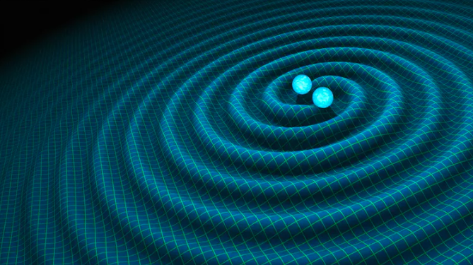 Featured image: Explainer: why you can hear gravitational waves when things collide in the universe
