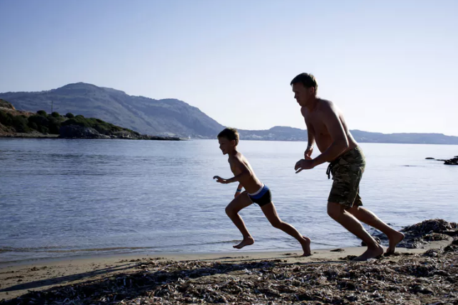 Image: Yes, your kids can run all day – they've got muscles like endurance athletes