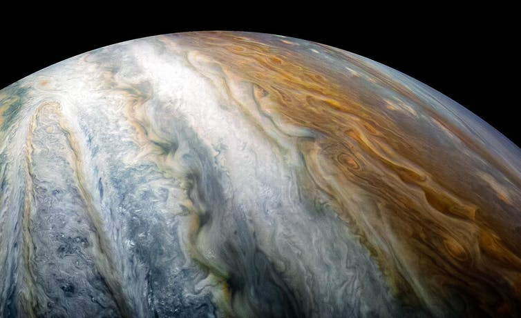 Image: The latest from Juno as Jupiter appears bright in the night sky