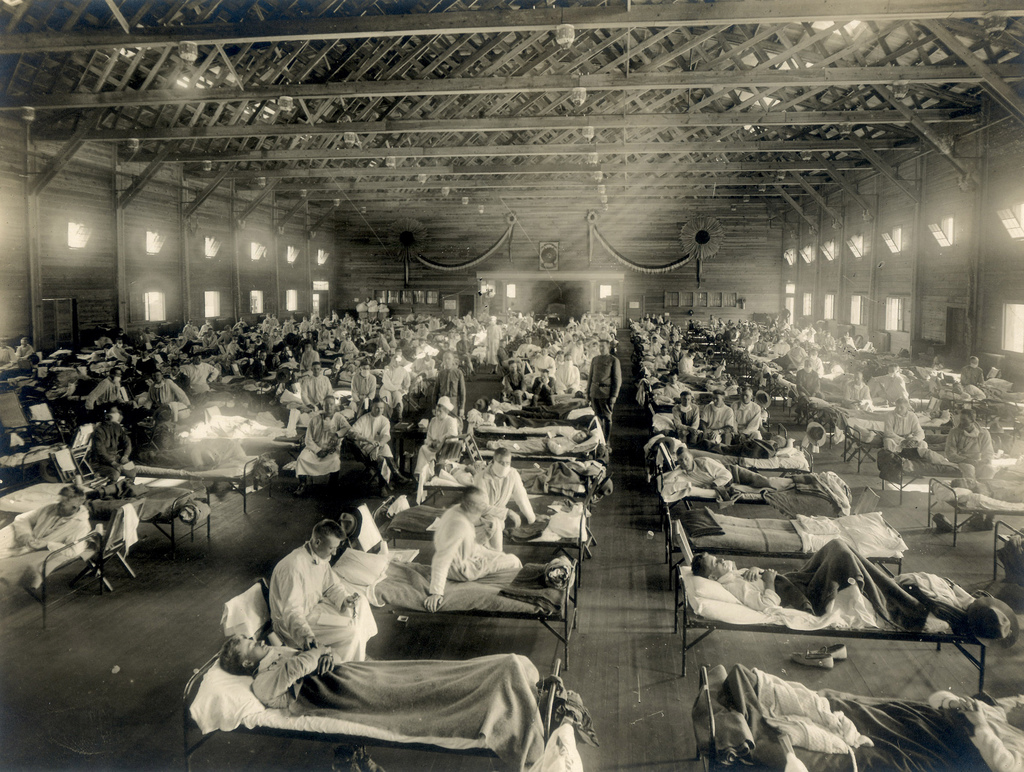 Image: A 100 years ago today – the likely first NZ death from the 1918 influenza pandemic