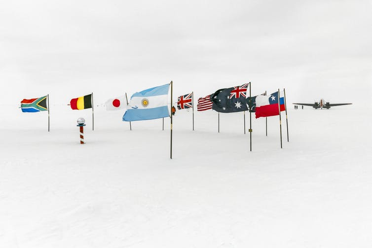 Image: Explainer: What any country can and can't do in Antarctica, in the name of science