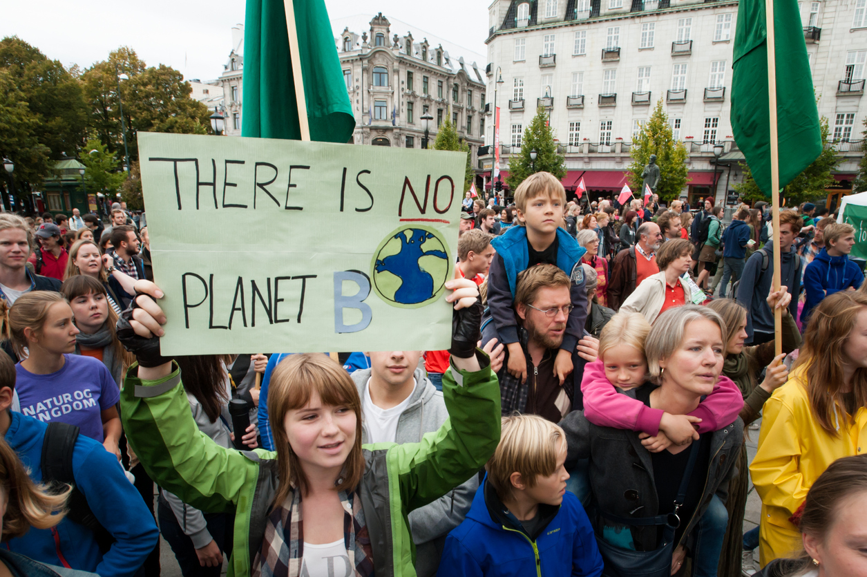 Featured image: SS4C – school strike 4 climate