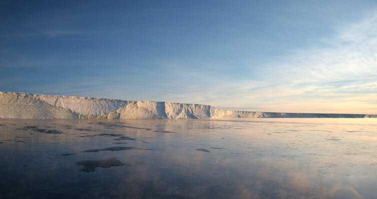 Image: Ice melt in Greenland and Antarctica predicted to bring more frequent extreme weather
