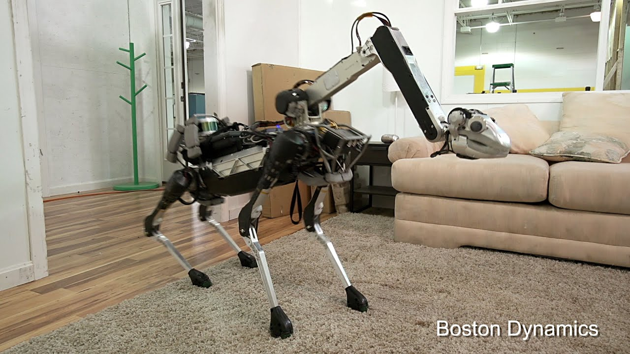 Featured image: Robot dog meet robot stick