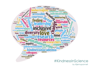 Featured image: Kindness in Science