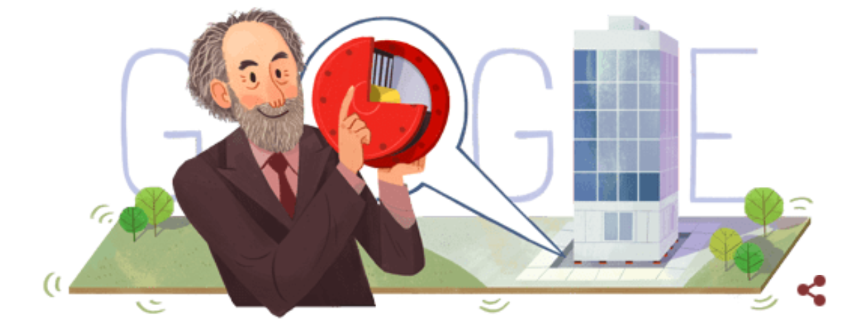 Featured image: Google Doodle for Bill Robinson's birthday