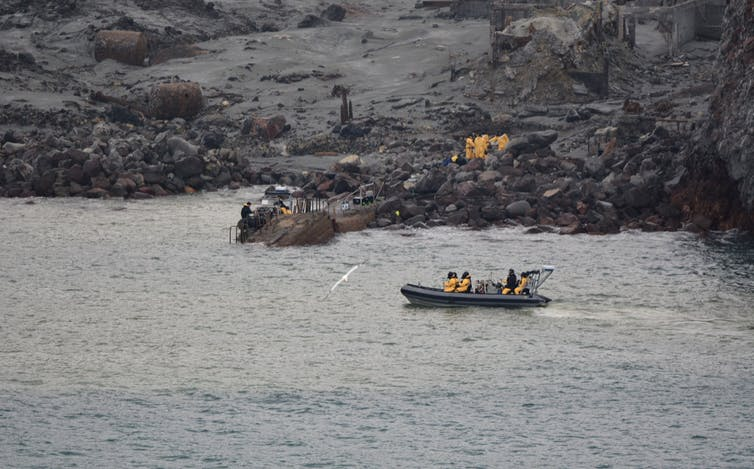 Image: Call for clearer risk information for tourists following Whakaari/White Island tragedy
