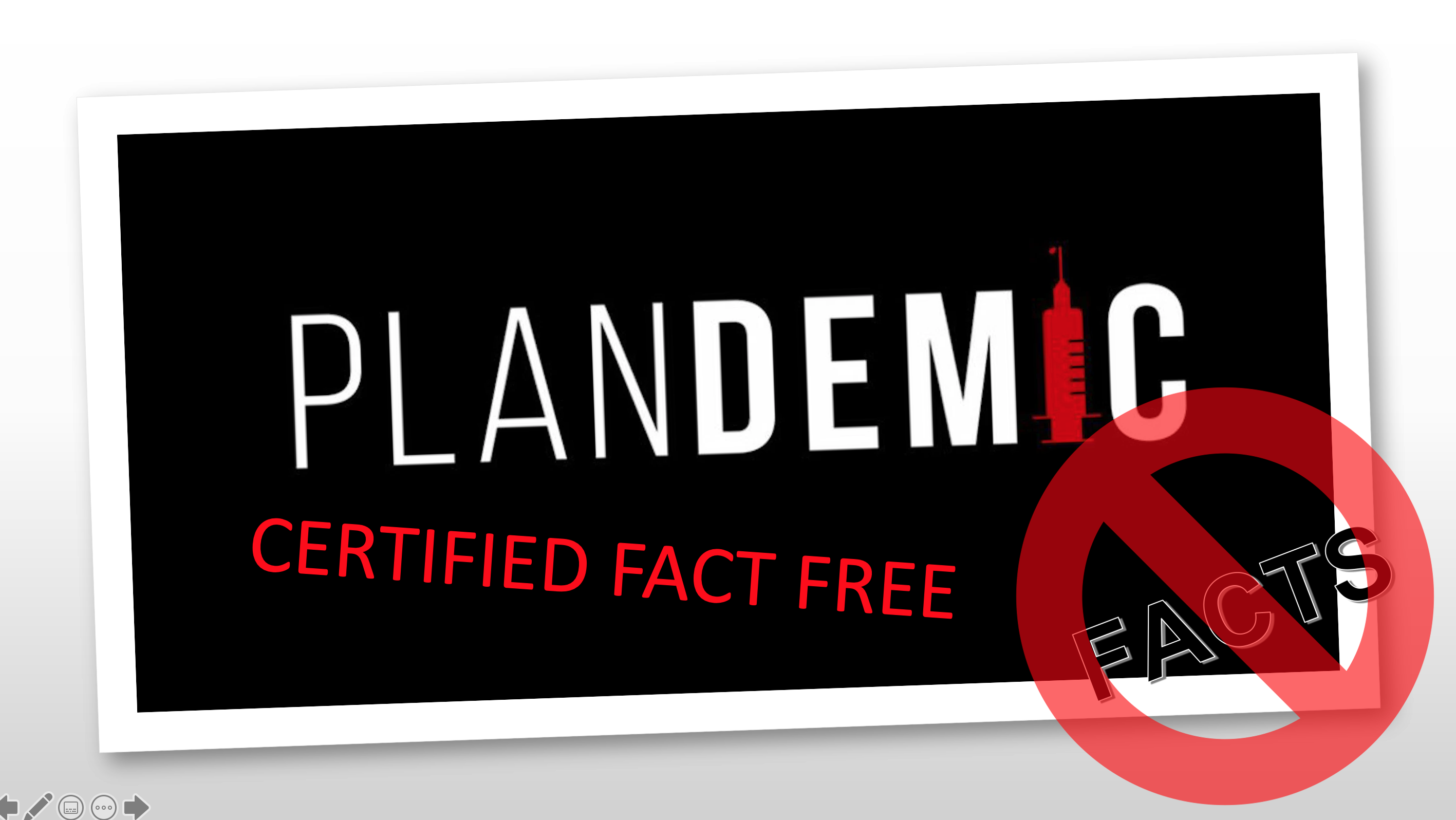 Featured image: Plandemic – effective fact-free marketing