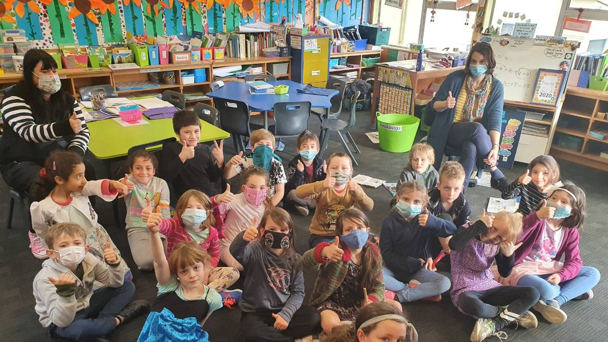 "Featured image: Using a fun ""Mask Day"" at school to promote pandemic protection in the NZ community"