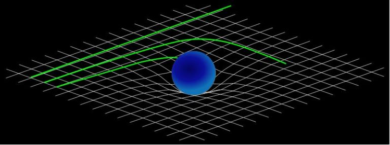 Image: When analogies are taken too far: Spacetime is bent, but it's not quite a stretchy membrane
