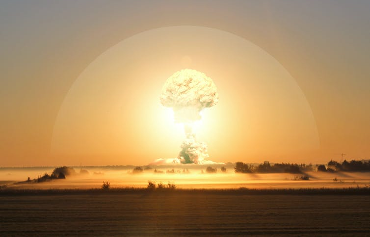 Image: Did atomic bomb tests damage our upper atmosphere?