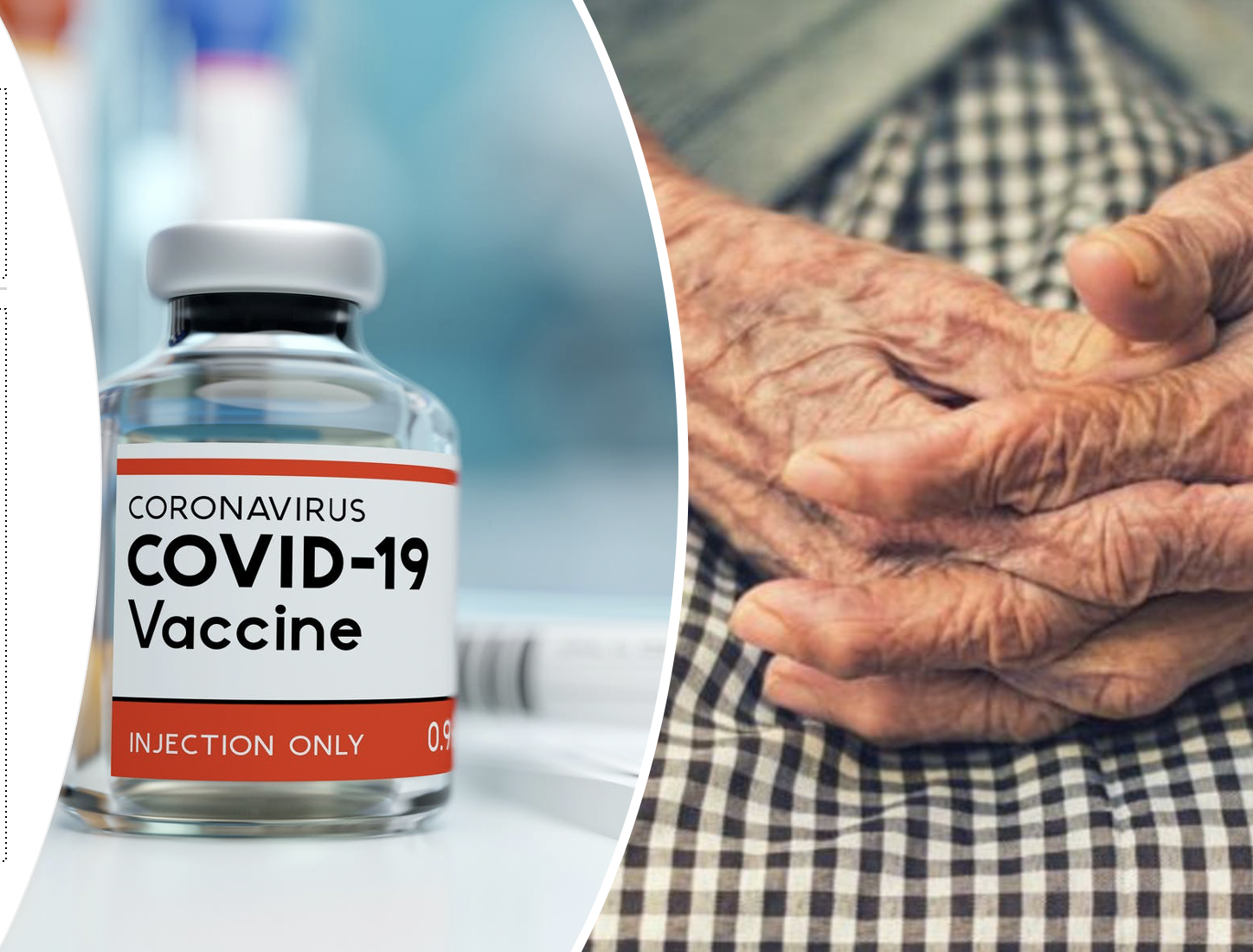 Featured image: The frail elderly and COVID vaccines – should we be concerned?