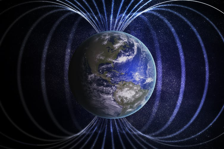 Image: Earth's magnetic field broke down 42,000 years ago and caused massive sudden climate change