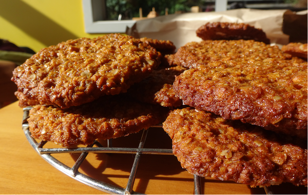 Featured image: My favourite Anzac biscuit recipe