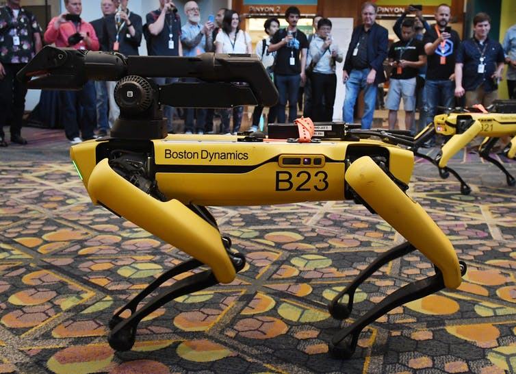 Image: Is 'Spot' a good dog? Why we're right to worry about unleashing robot quadrupeds