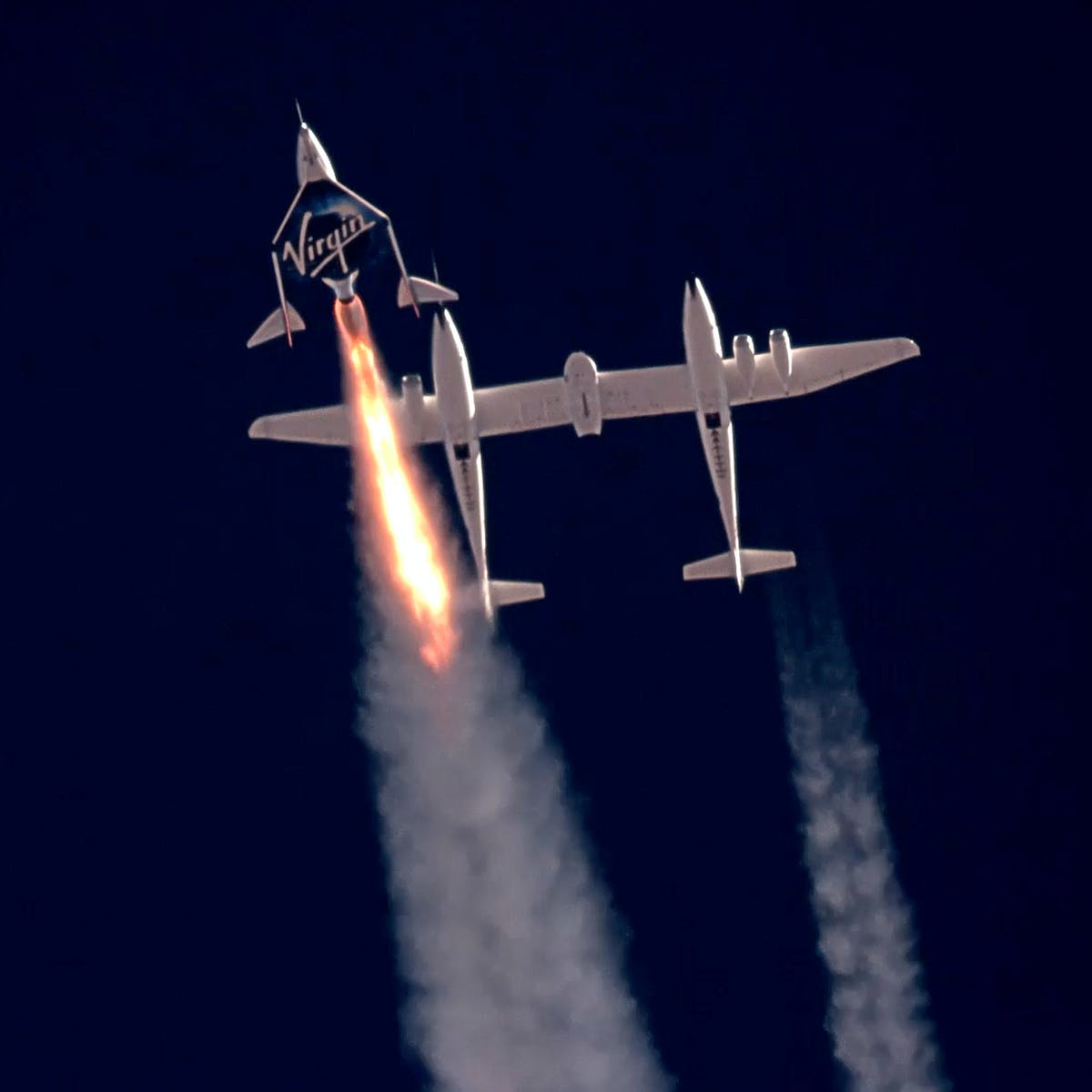 Featured image: Virgin Galactic and Blue Origin: can they be more than 'space' joyrides formillionaires?