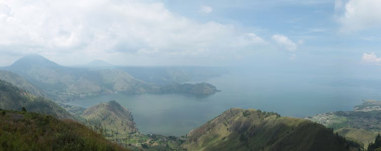 Image: When an ancient volcanic 'supereruption' caused sudden cooling, early humans gotlucky