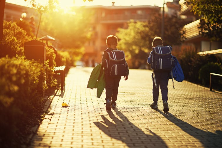 Featured image: Kids set free to roam on their own feel more confident navigating inadulthood