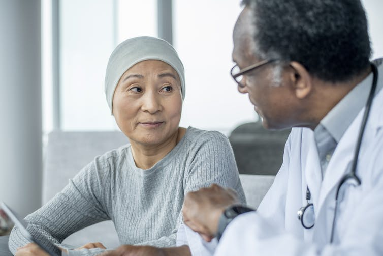 Image: How patients talk about cancer with family, friends anddoctors