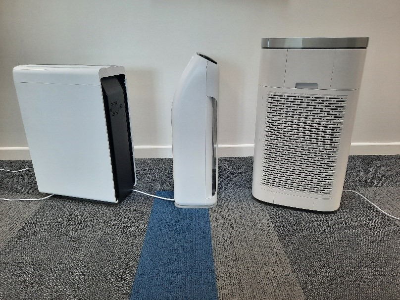 Featured image: Reducing the risk of Covid-19 transmission through the use of air purifiers